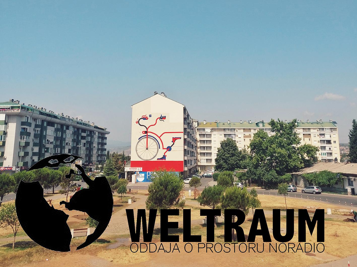WELTRAUM 013/2021<br>Sonja Dragović:<br>Riding Bikes