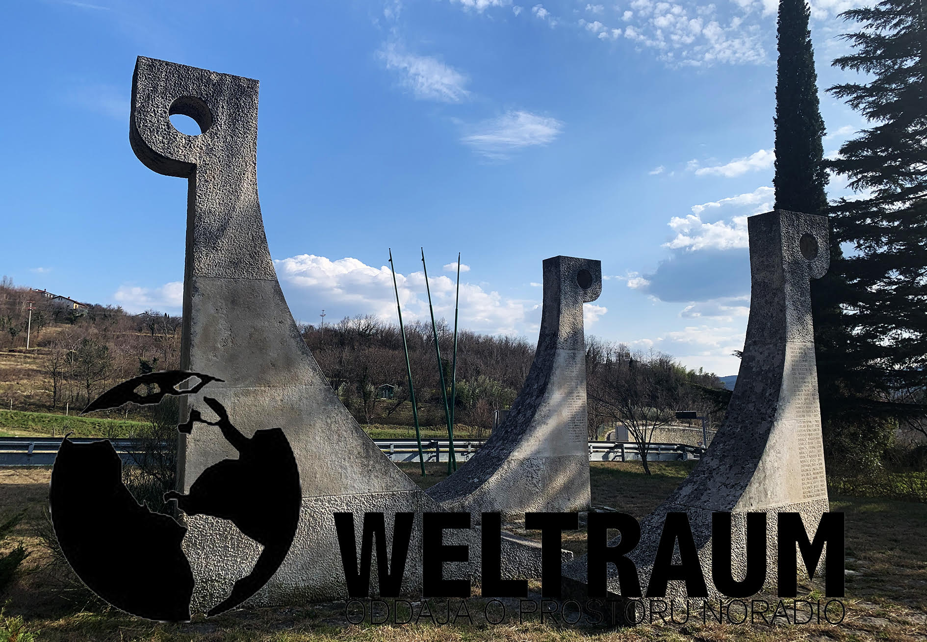 WELTRAUM 014/2021<br>Architecture. Sculpture. Remembrance.
